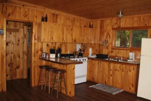 The Big Cabin at Cedar Island Lodge on Pipestone Lake, Ontario Canada